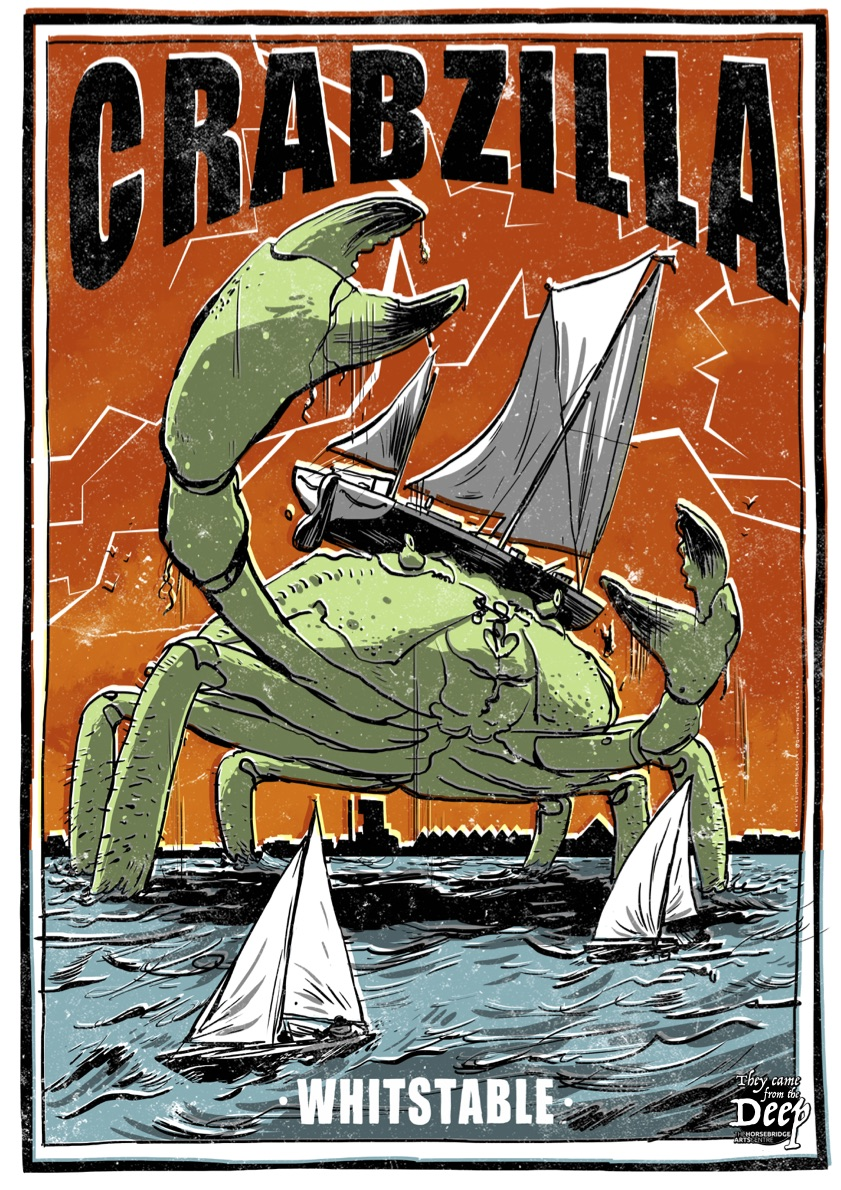 Quinton Winter: Crabzilla :: The Horsebridge