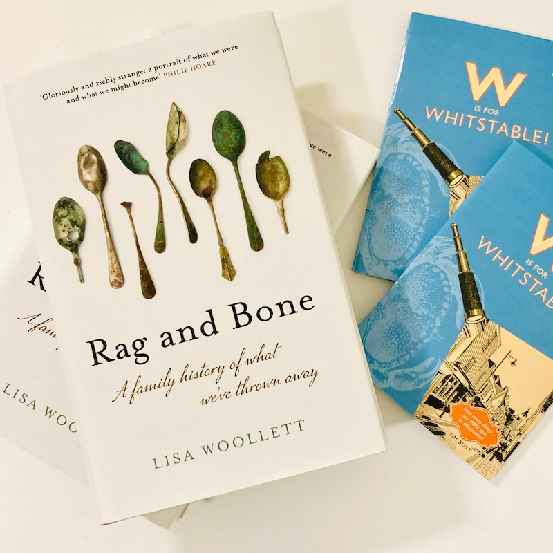 Books and journals by Lisa Woollett and Tim Butt