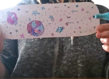 Virtual Young Makers Club : Foil Printed Bookmarks
