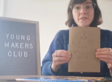 Virtual Young Makers - Sketch Book Making