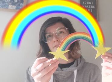 Virtual Young Makers Club: Rainbows