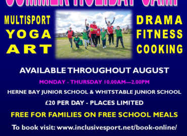 Supporting Summer Holiday Camp