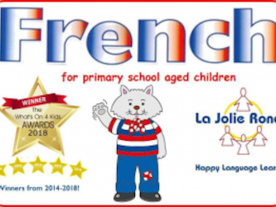 La Jolie Ronde French for 7 - 8 years
